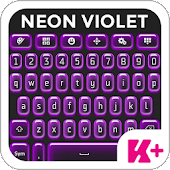 Keyboard Plus Neon Violet