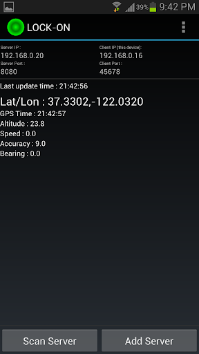 GPS Tether Client+