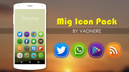 Mig Icon Pack Theme