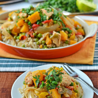 Slow Cooker Thai Chicken.