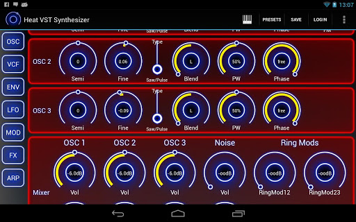 Heat Synthesizer Demo BETA