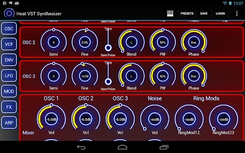 Heat Synthesizer Demo BETA - screenshot thumbnail