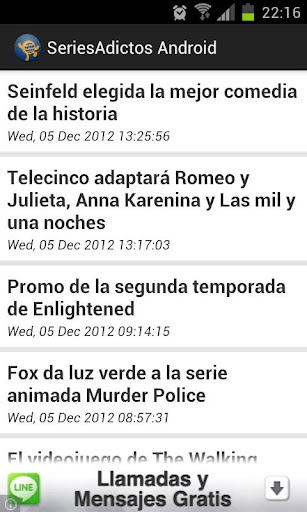 SeriesAdictos Android