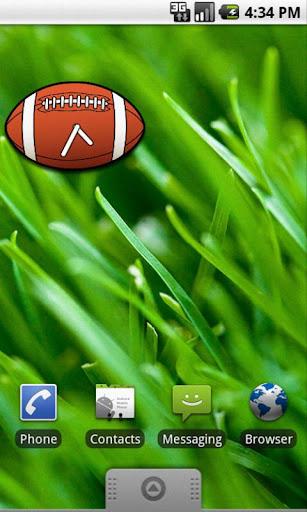 Rugby Analog Clock Widget