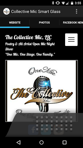 The Collective Mic Smart Glass