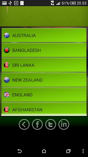 Basic live cricket scores
