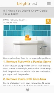 BrightNest – Home Tips & Ideas- screenshot thumbnail