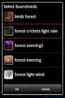 Screenshot of Forest Sounds to Relax