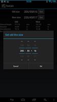 Screenshot of Tire Calculator (TireCalc)