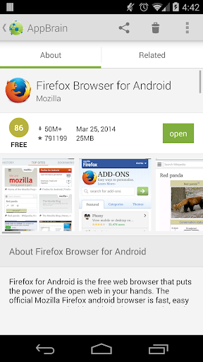 AppBrain App Market 9.7.2 screenshots 4