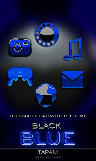 Smart Launcher GSLTHEME B. ブルー