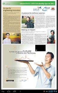 Mindef/ SAF & DSTA Scholarship - screenshot thumbnail