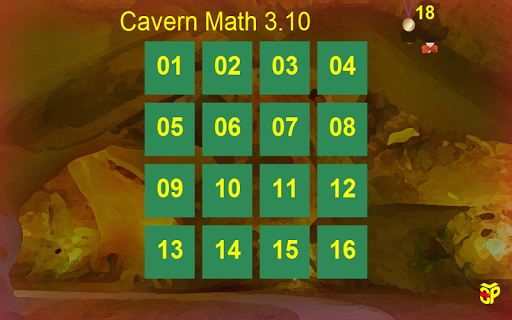Cavern Math 3.10a