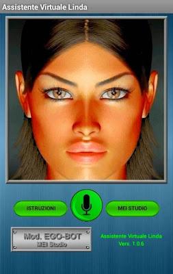 Virtual Assistant Linda - screenshot