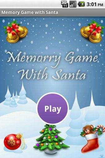 Memory Game With Santa