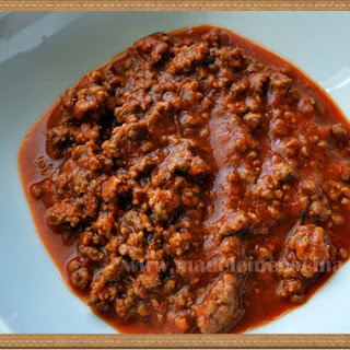 Red Picadillo- Ground Beef Chili