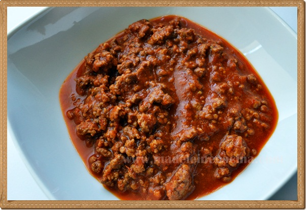 Red Picadillo- Ground Beef Chili Recipe