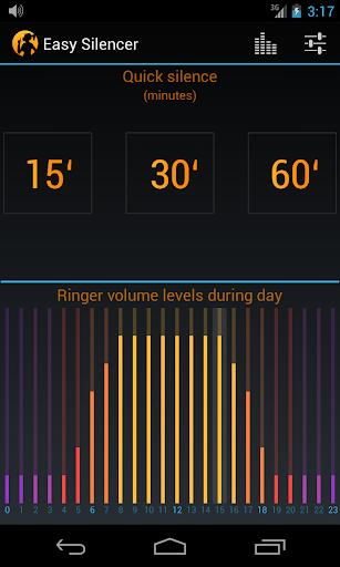 Easy Silencer - Ringer volume  screenshots 1