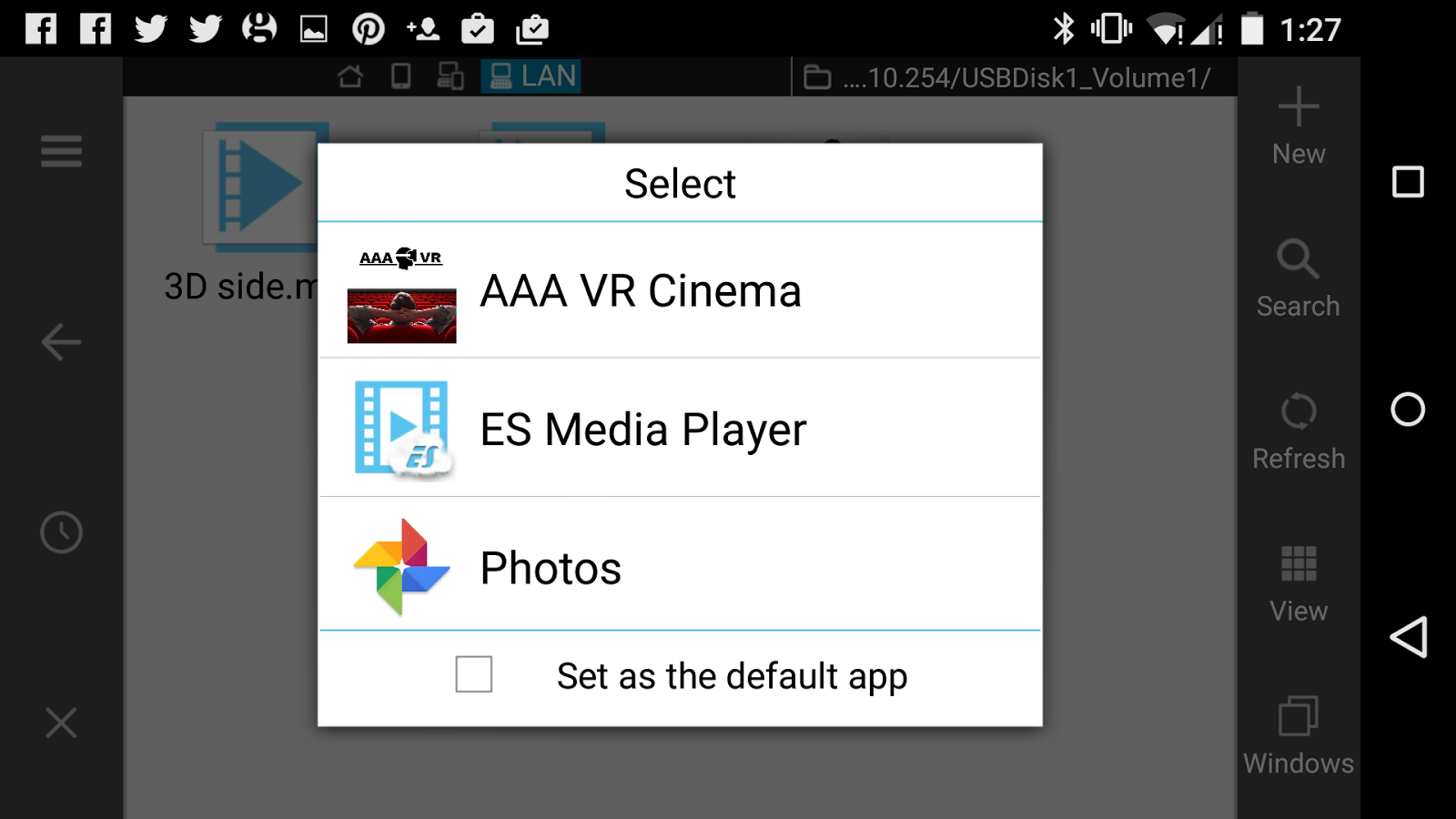 Aaa vr cinema cardboard 3d sbs android apps on google play 3d application