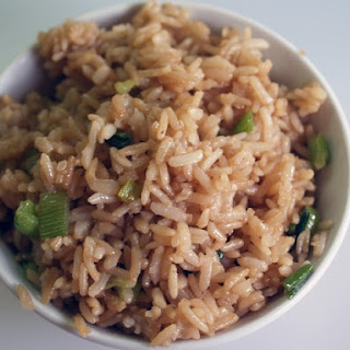 Simple Fried Brown Rice