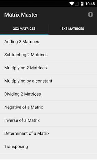 Matrix Master