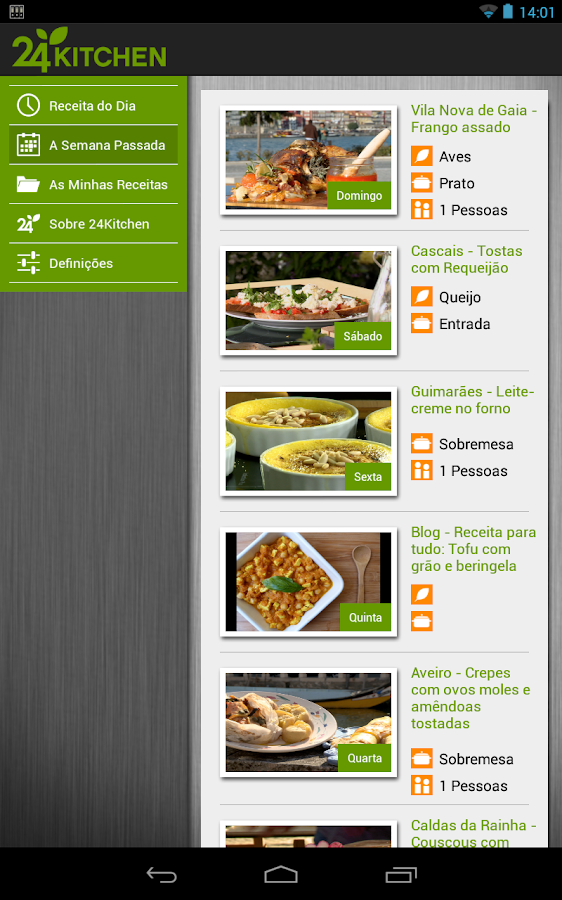 24Kitchen Recipe of the Day- screenshot