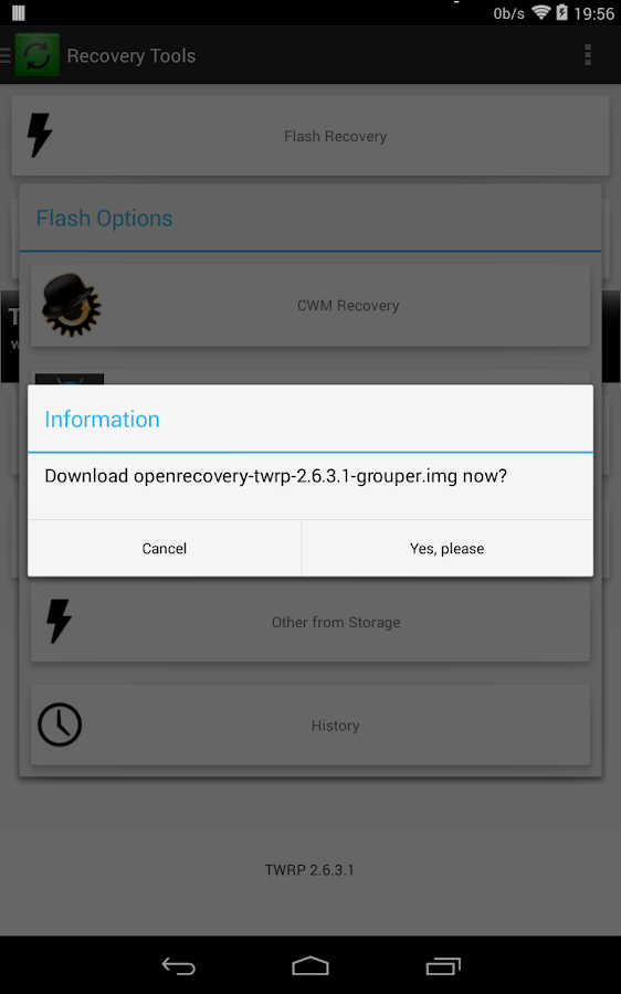 [ROOT]Recovery Tools - Flasher - screenshot