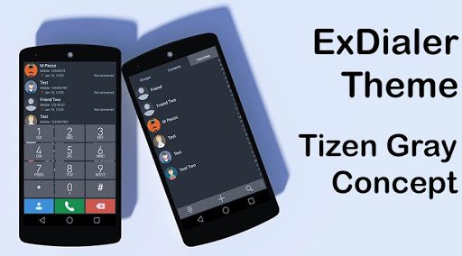 Tzn Concept Gray for ExDialer