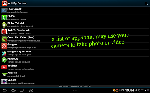 Camera Lock , Disable Camera screenshot 8