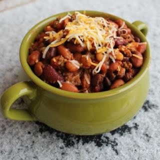 4-Bean Texas Chili.