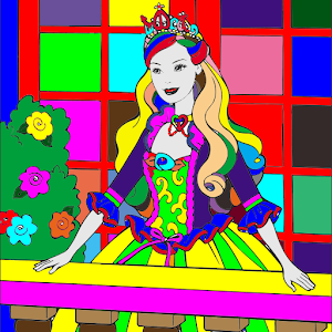 Freeapkdl Coloring Book My Princess for ZTE smartphones