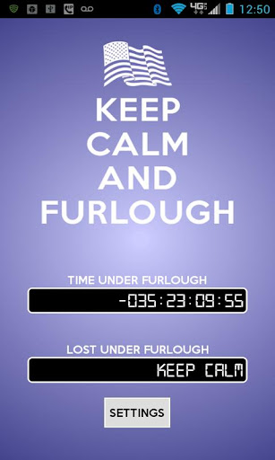Keep Calm and Furlough