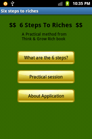 Six Steps To Riches Pro