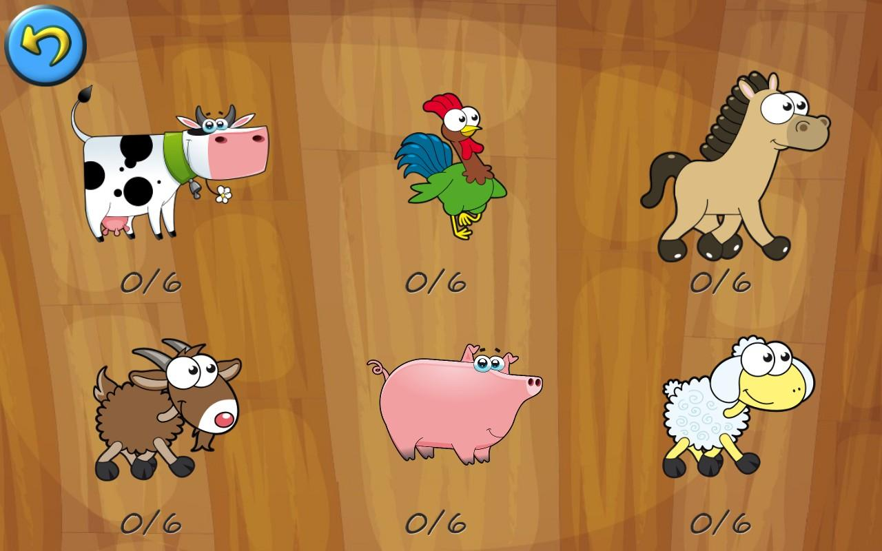 Farm Animal Puzzles for Kids- screenshot