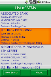 MoneyPass ATM Locator Screenshot 3