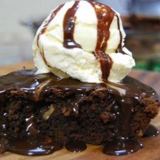 Brownie Pie a la Mode