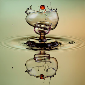 Drop splash 3 . by Duy Tang - Abstract Water Drops & Splashes ( colour, water, guar, liquid, droplet, drop, gum, xanthan )