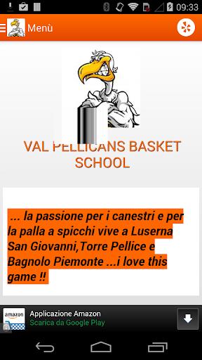 Val Pellicans Basket School