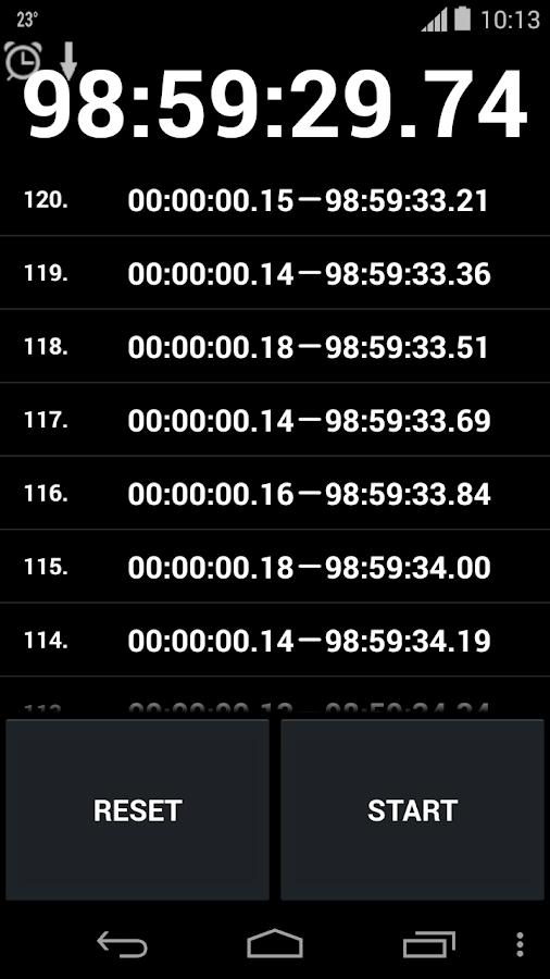 Stopwatch & Timer - screenshot