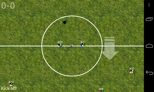 Soccer for Android  screenshots 1