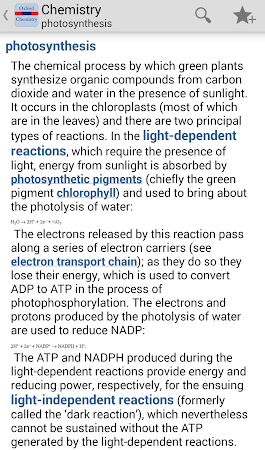 Oxford Chemistry Dictionary Tr 4.3.136 screenshot 75623