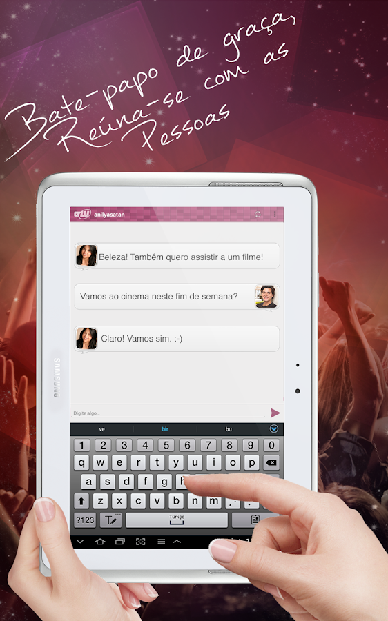 Chat Encontrando Amigos Namoro - screenshot