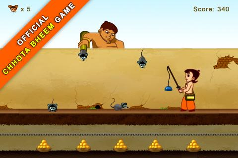 Chhota Bheem Mice Mayhem Lite - screenshot