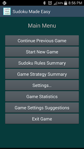 Sudoku Made Easy