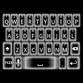 Ghost Glow Keyboard Skin