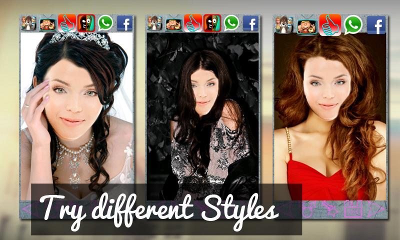 Hairstyles Star Look Salon Android Apps On Google Play - Hairstyles changer app