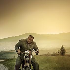 JAWA by BO LED - Transportation Motorcycles ( krajiny, oprava, retro, waderer vymazať janeček · old · czechslovakia, jawa, Free, Freedom, Inspire, Inspiring, Inspirational, Emotion,  )