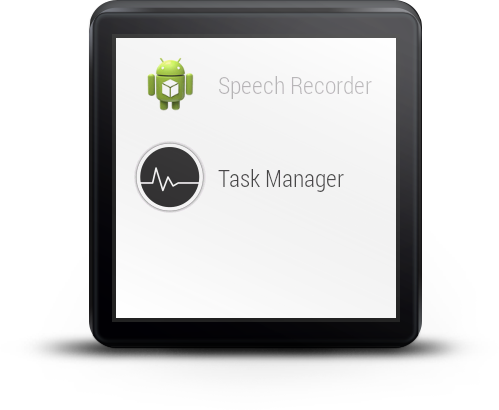 Task Manager For Android Wear- screenshot