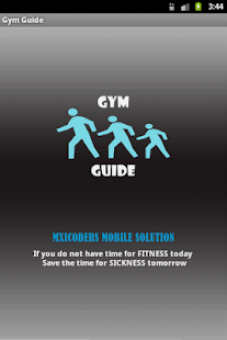 Simple Gym Guide information a- screenshot thumbnail