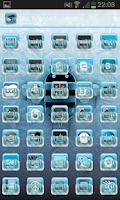 Screenshot of Frozen (ADW APEX NOVA Theme)